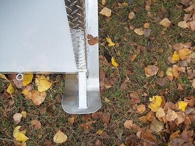 Aluminum Ski